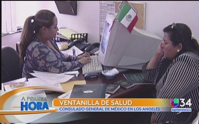 Mes de la salud en el Consulado de México