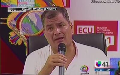 "Negativa de Ecuador a pedir de ""limosna"" el TPS divide a los ecuatoriano..."