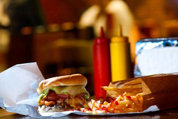 El buen sabor de una hamburguesa hecha con todas las de la ley, hasta qu...