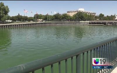 Esta agua implica un riesgo para los habitantes de Stockton
