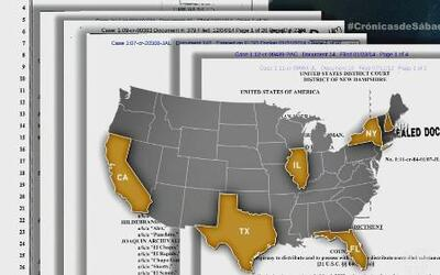 """Los cargos de """"El Chapo"""" en Estados Unidos"""