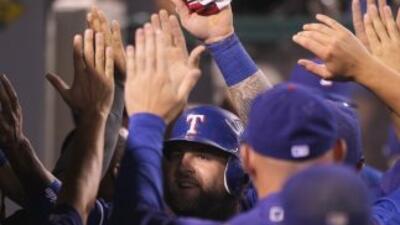 Los Rangers de Texas ligaron su sexta victoria en fila, ahora a costa de...