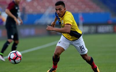 Ángel Mena disputó la Copa América Centenario.