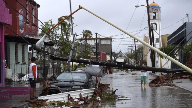 Así fue el paso del huracán Odile por México en 2014