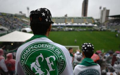 El Arena Conda, campo del Chapecoense, despedirá a sus futbolista...