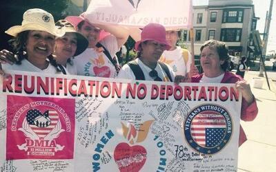 100 mujeres inmigrantes indocumentadas dieron inicio el 15 de septiembre...