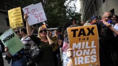 El movimiento sale a las calles para exigirles a los millonarios de Esta...