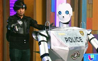 'Telebot', el robot policía que ayudará a oficiales discapacitados