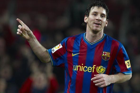 Messi llegó a 101 goles con el Barça y se convirtió en el jugador más jo...