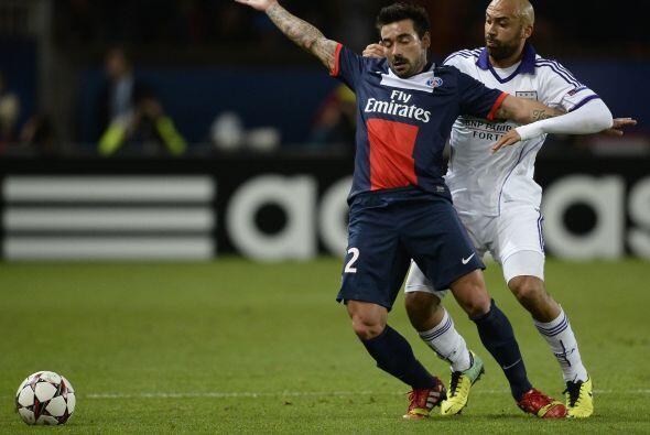 El París Saint-Germain recibió la visita dle Anderlecht belga.