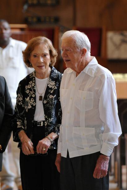 Invitado por Raúl Castro, Carter visita Cuba en vísperas del Congreso de...