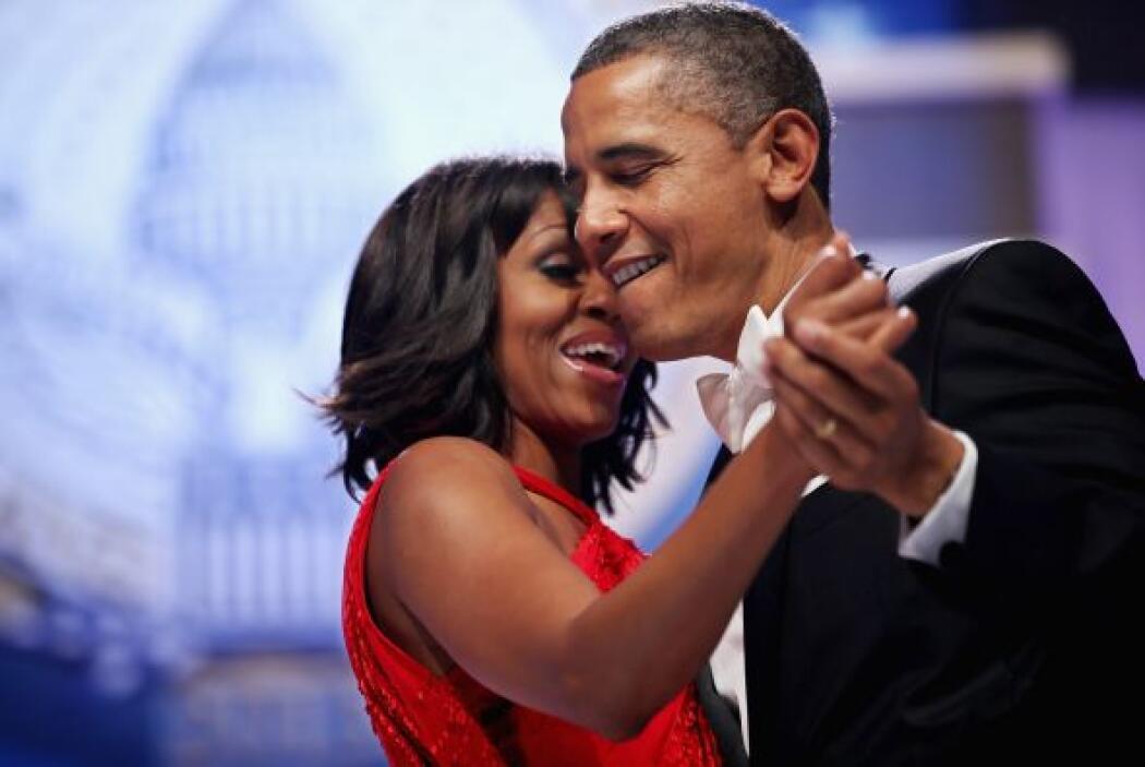 Obama, que ya ha confesado que el baile no es su fuerte, cedió el lidera...