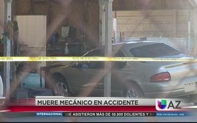 Trágico accidente mata a mecánico