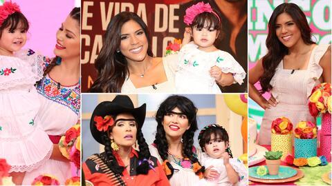 Baby Giulietta y Francisca Lachapel cumpleaños