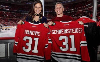 Ana Ivanovic y Bastian Schweinsteiger disfrutan de su nueva vida en Chicago