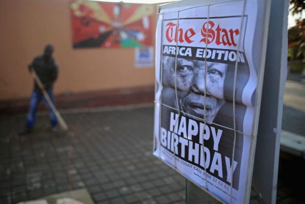 Las autoridades y la familia de Madiba -como se conoce al héroe sudafric...