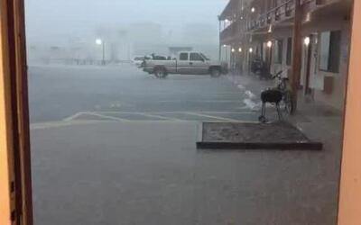 Usario compartió video de una tormenta eléctrica