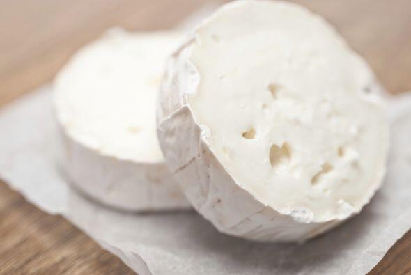 Queso blando. Un pedacito de queso fresco 'light', desnatado y bajo en g...