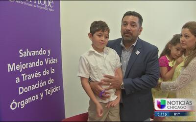 Campaña promueve la donación de órganos entre la comunidad latina