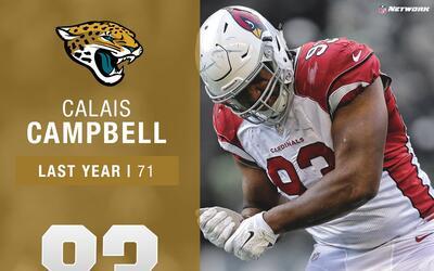 #83: Calais Campbell (DL, Jaguars) | Top 100 jugadores 2017