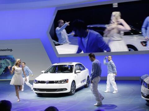 Volkswagen presentó en el Autoshow de Detroit uno de los autos m&...