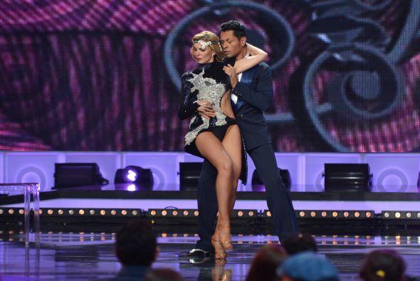 El tango de la tercera finalista de Mira Quién Baila mantuvo al público...
