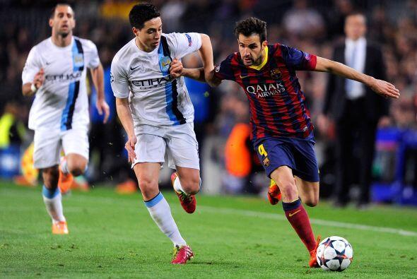 Otra pieza fundamental en el estilo de Barcelona, Cesc Fábregas n...