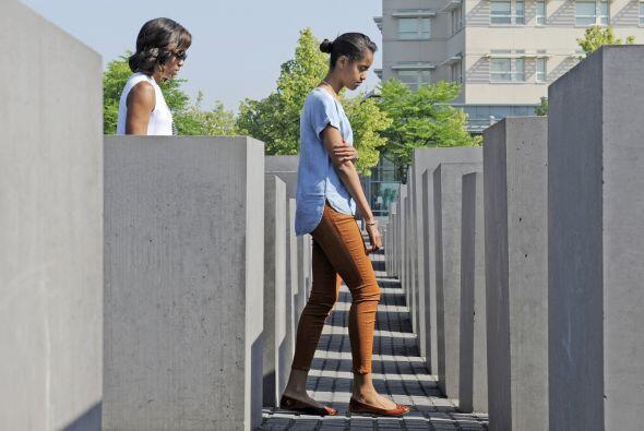 El Memorial del Holocausto, inaugurado en 2005, reúne más...