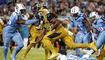 Los Jacksonville Jaguars en un partido donde dominaron las defensivas ve...
