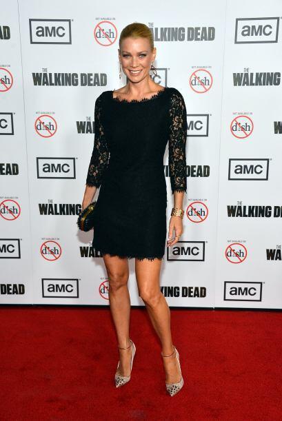 Laurie en la develación de la tercera temporada, en el verano de 2012....
