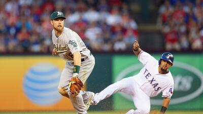 Texas Rangers vs Oakland Athletics