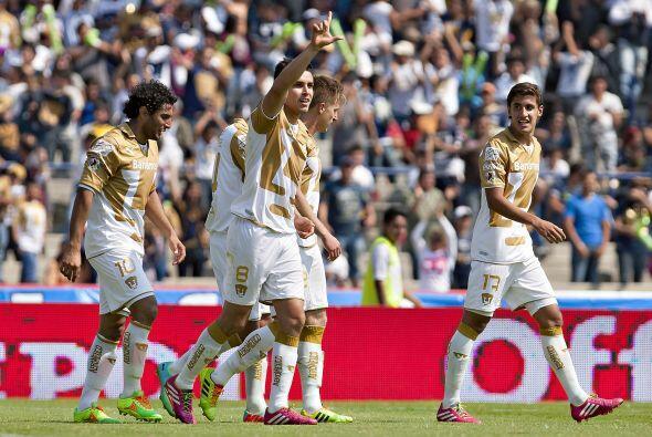 Y es que Pumas y Querétaro tienen la misma cantidad de puntos y a...