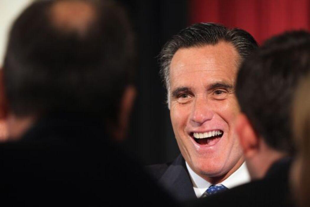 El sondeo muestra a Romney con un 47% a favor, frente a un 41% el Presid...