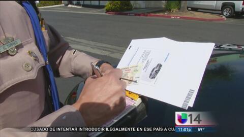 Este lunes vence el plazo para amnistía de multas de tránsito en California