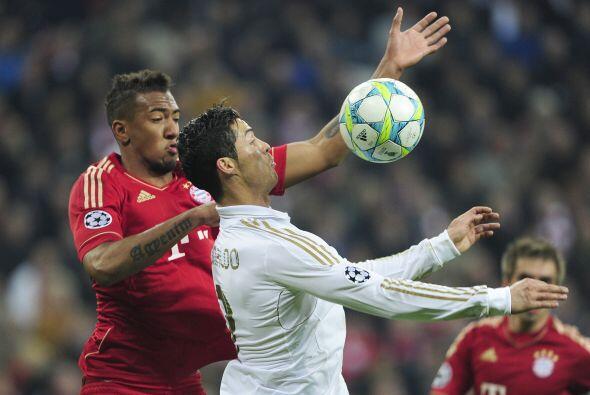 Cristiano Ronaldo, que hasta el momento había lucido poco, tuvo un mano...