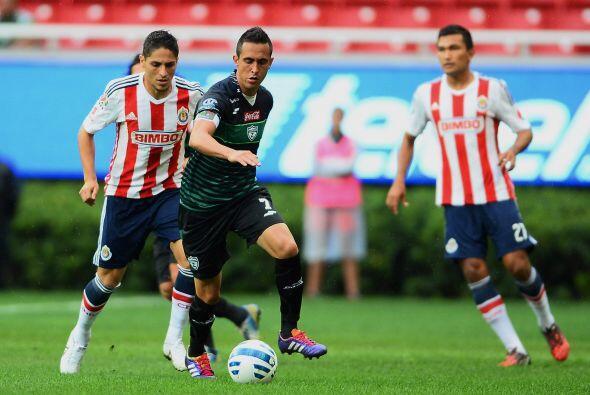 Gabino Velasco, el volante nunca pudo consolidarse con el primer equipo...