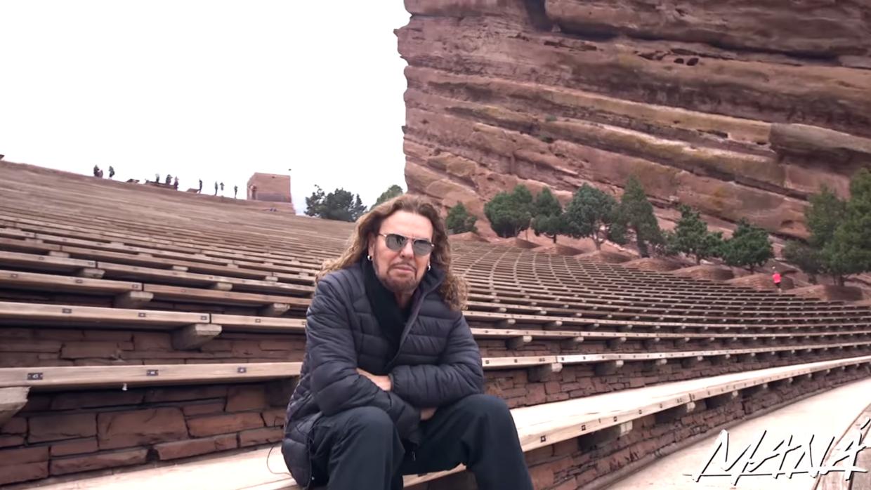 Fher de Maná en el Anfiteatro de Red Rocks