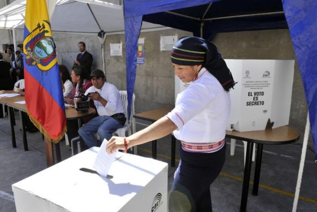 Alrededor de 11 millones de electores están convocados.