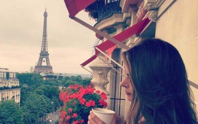 ¿A quién no le gustaría despertar con esa hermosa vista?