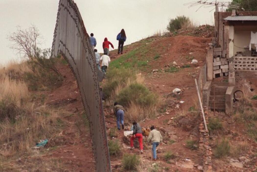 Aunque también hay centro y sudaméricanos, buena parte de los migrantes...