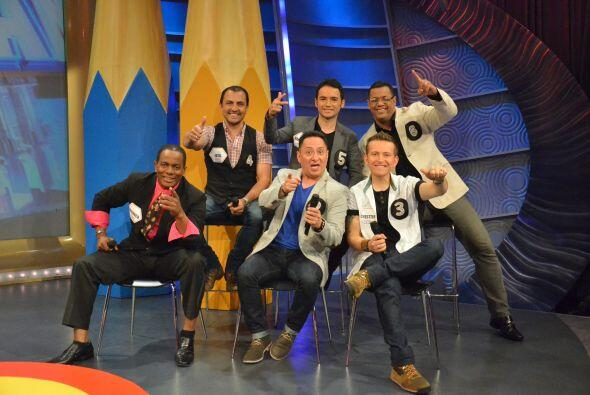 Ellos fueron los 6 participantes de la 'Tómbola de la risa' que e...