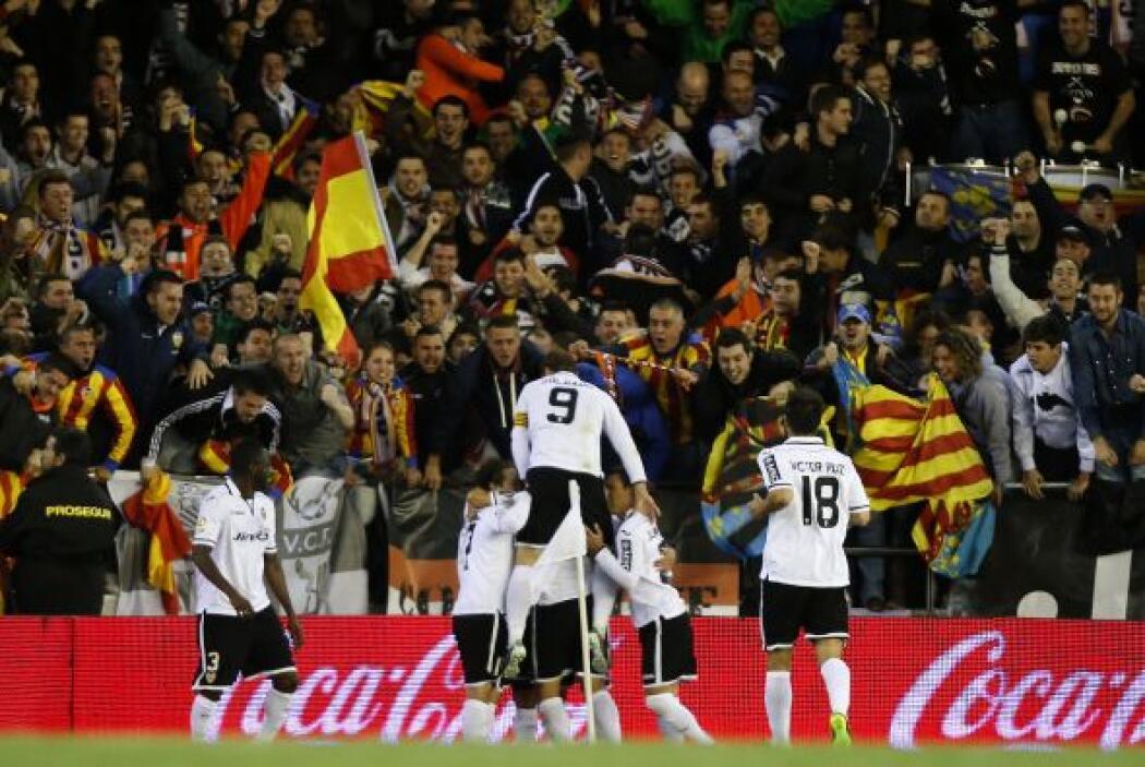 El Valencia, por su parte, ha recuperado el tono de la mano de Ernesto V...