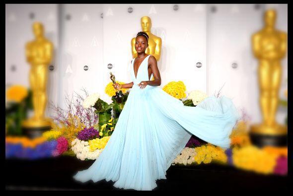 Sin duda este fue el año de Lupita Nyong'o desde que comenzó se hizo acr...