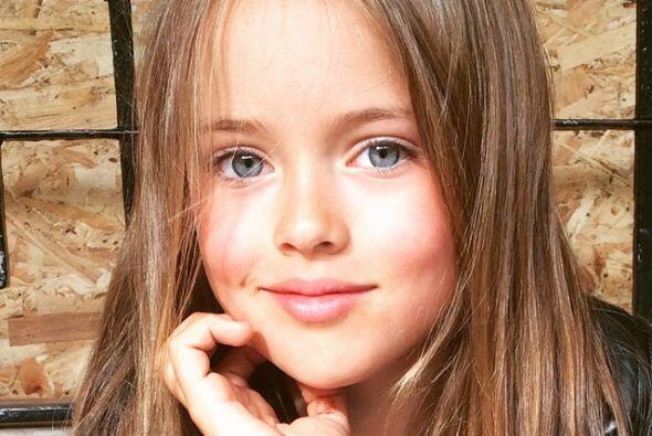 Esta pequeña es Kristina Pimenova, hija del famoso futbolista Ruslan Pim...