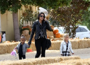 KOURTNEY KARDASHIAN, PENELOPE DISICK & NORI WEST