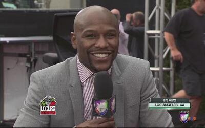 Floyd Mayweather Jr: 'Mis manos son las que hablan en el ring'