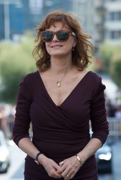 Susan Sarandon se ha destacado por su gran capacidad actoral y en Hollyw...
