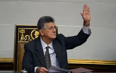 El presidente de la Asamblea, Henry Ramos Allup, anunció que ir&a...