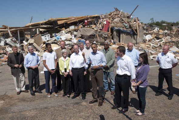 El presidente Barack Obama visitó este viernes el estado de Alaba...