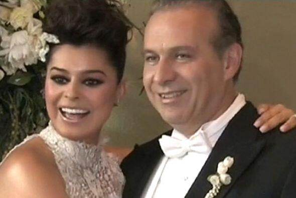 La actriz Yadhira Carrillo y el abogado Juan Collado unieron sus vidas e...